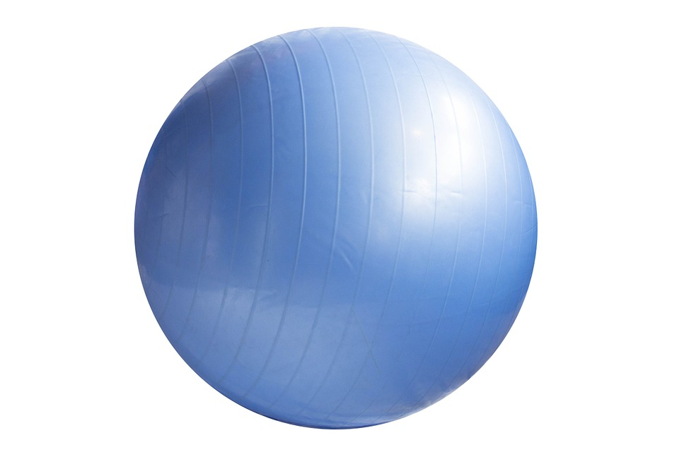 Modrý míč