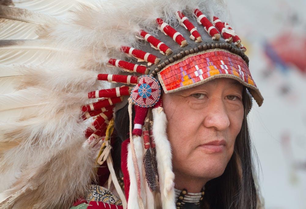 indián čelenka