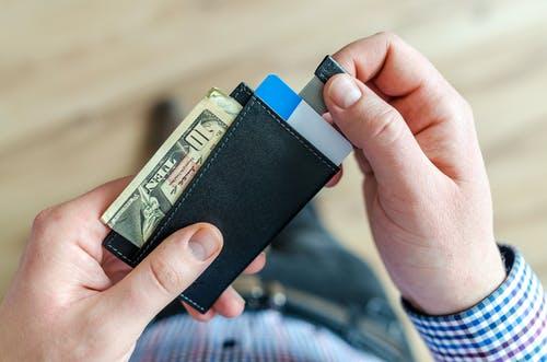 ruce, peněženka