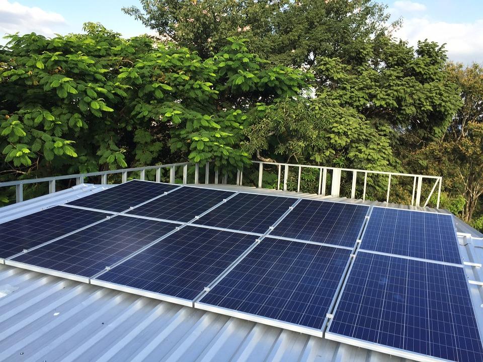 Výroba elektřiny fotovoltaikou